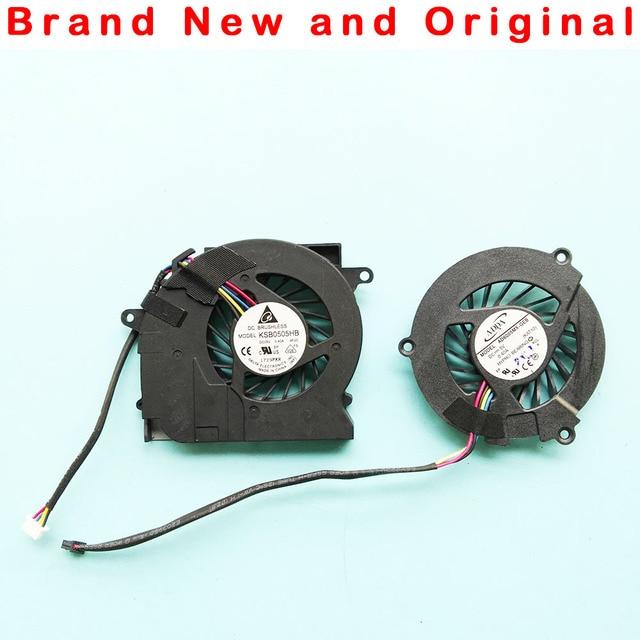 Новый оригинальный Процессор вентилятор для hp Elitebook 2540 2540 P ноутбук процессора вентилятор охлаждения cooler KSB0505HB 9F2C KSB0505HB-9F2C AD6005HX-GEB KAT10