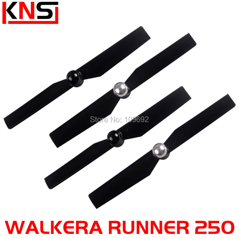 Free Shipping 100% Original Walkera Runner 250 Advance Propeller Blades Set CW&CCW Runner 250-Z-01 RC FPV Quadcopter spare Parts sy x25 rc quadcopter spare parts propeller blades cw