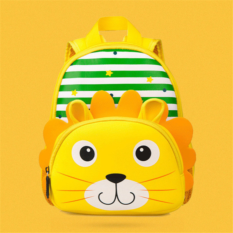 3D School Backpack For Boys Girl Cartoon Backpacks Children Backpack Kids School Bags Ki ...