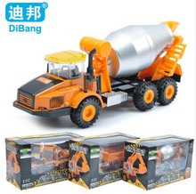 2016 Classic Alloy Toy Engineering Car Models Dump-car Dump Truck excavate Car Toys For Boy Child