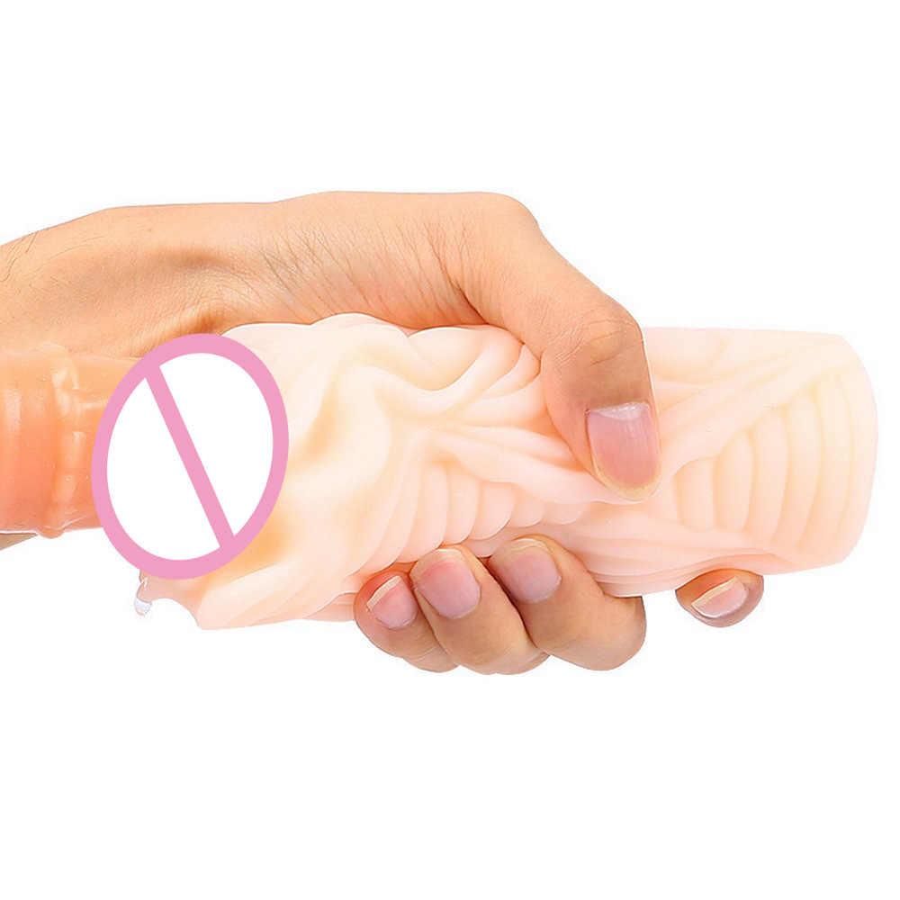 Силиконовый мужской мастурбатор чашка Реалистичная Вагина настоящая киска сосание карманная киска пенис насос секс-игрушки для мужчин эротическая игрушка для секса магазин