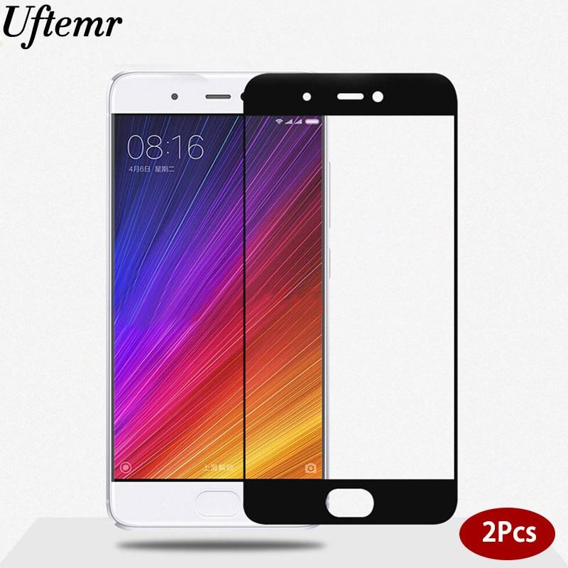 2PCS For Xiaomi mi 5s Plus Glass 2.5D 9H HD Full Tempered Glass Screen Protector Film for Xiaomi mi 5s mi5s plus tempered glass