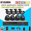 8CH CCTV System Home Safety 1080N Full 960P 8 Channel 1 3MP HD AHD DVR 1800TVL