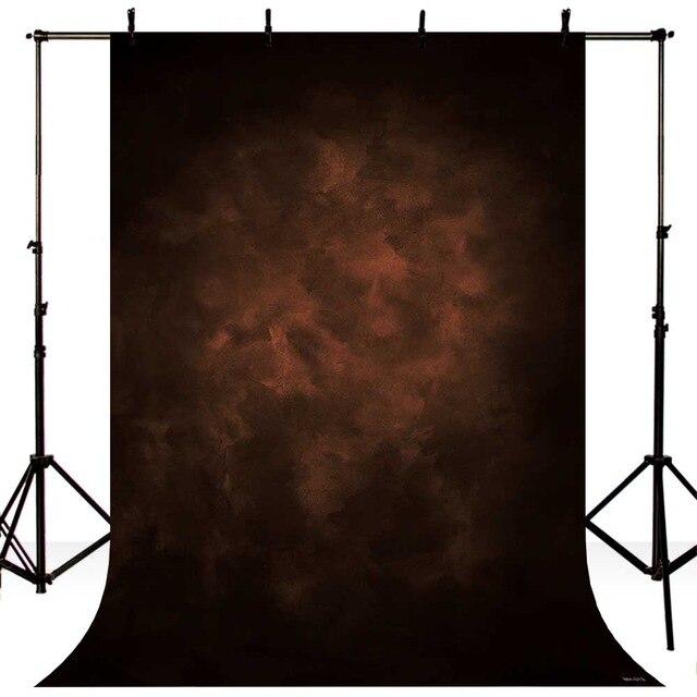 Ancien maître photographie toile de fond brun foncé fond tissu pour modèle parti photo studio portrait arrière-plan photographique