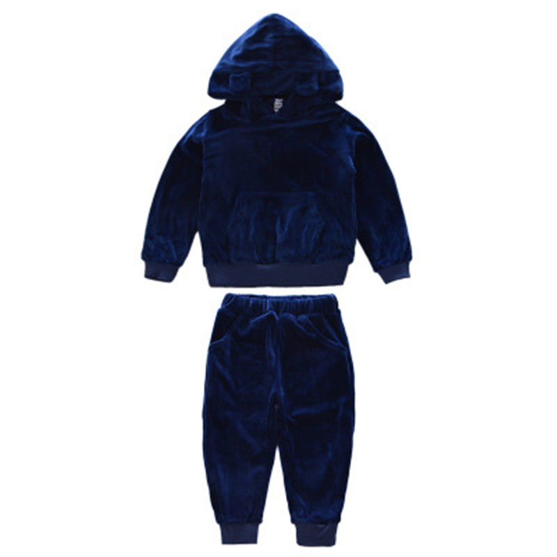 Boys Clothing Set Thick Sport Suit Children Set Teenager Girls Clothes Suits Autumn Winter Baby Boy School Uniform Tracksuit boys clothing set kids sport suit children clothing girls clothes boy set suits suits for boys winter autumn kids tracksuit sets