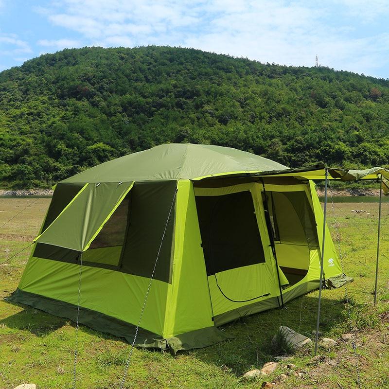 super 8 10 personen au en camping zelte. Black Bedroom Furniture Sets. Home Design Ideas