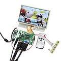 Raspberry Pi Lcd Tela Sensível Ao Toque de 7 Polegadas TFT Monitor com Tela Sensível Ao Toque Kit HDMI VGA Input Driver Board
