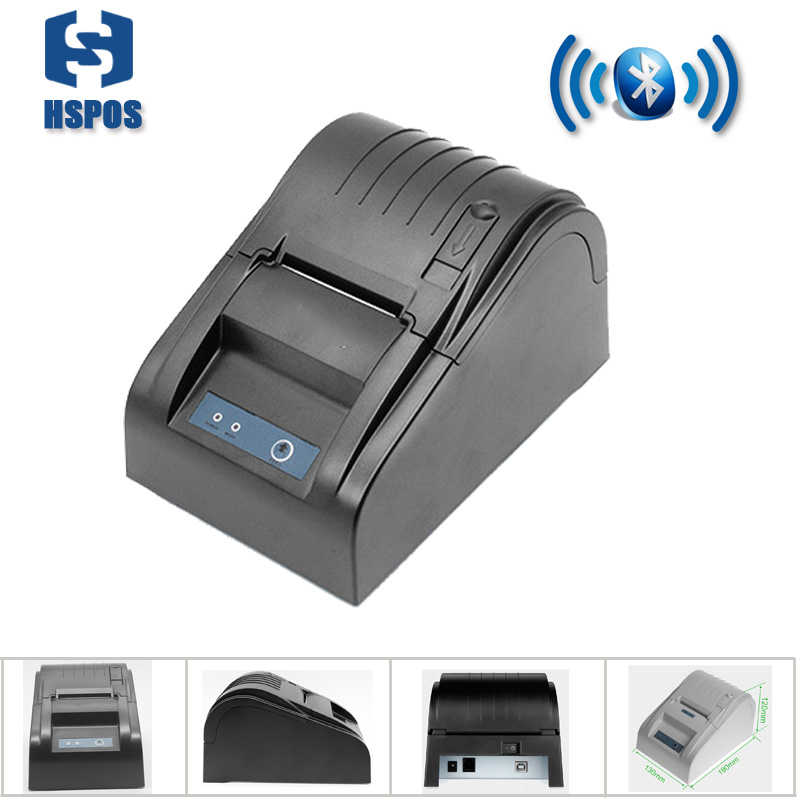 все цены на  Android thermal bluetooth receipt printer support QR code and multi-language printing no need ribbon high quality bill machine  онлайн