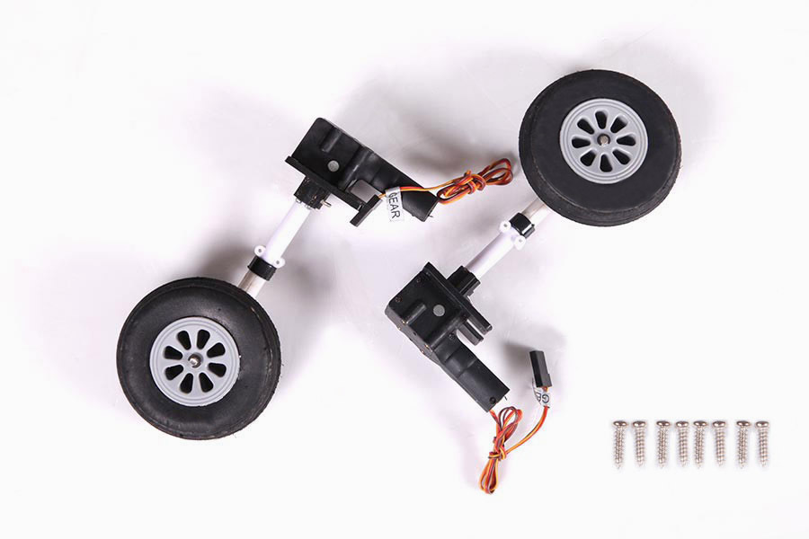 FMS 980mm P-40B P40 Flying Tiger Main Landing Gear System FH113  RC Airplane Aircraft Model Plane Spare Parts Accessories