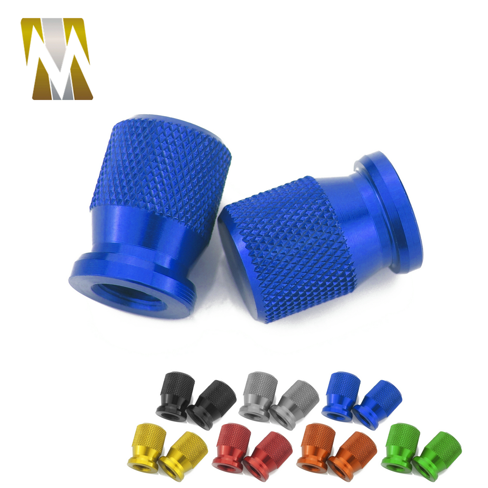 For Yamaha KTM Vespa Pedal Pitbike Pit Dirt Bike Racing Accessories Motorcycle Car Universal Wheel Air Tire Valve Cap