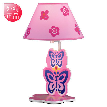 Butterfly cute cartoon bedside lamp for children to learn ...