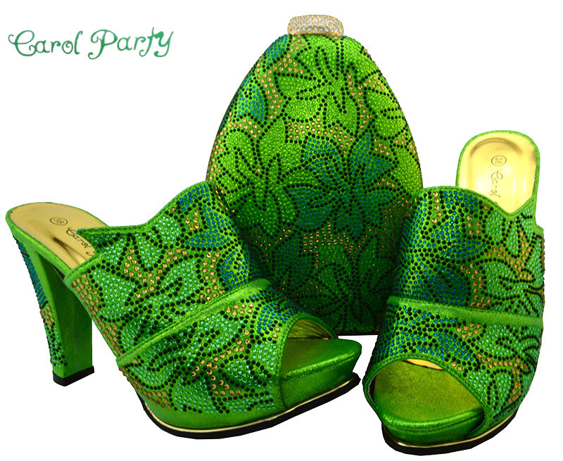 Italian Matching Shoes and Bag Set Women Shoes and Bag Set In Italy High Quality African Women Shoe and Bag BCH-32 wholesale italian ladies matching shoes and bags set in yellow high quality fashion african women shoes matching bag set mm1026