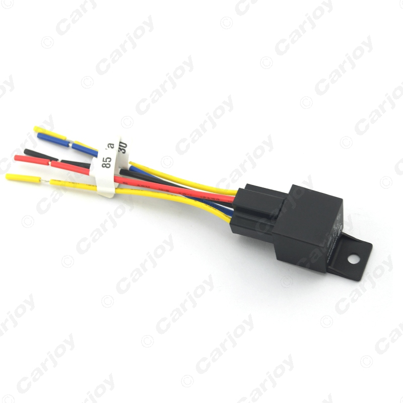 1pc Car Automotive JD1914 5 pin 12VDC 40 30A Constant Closed Relay Controller With Wire Harness 1pc car automotive jd1914 5 pin 12vdc 40 30a constant closed relay 12V DC Battery at gsmx.co