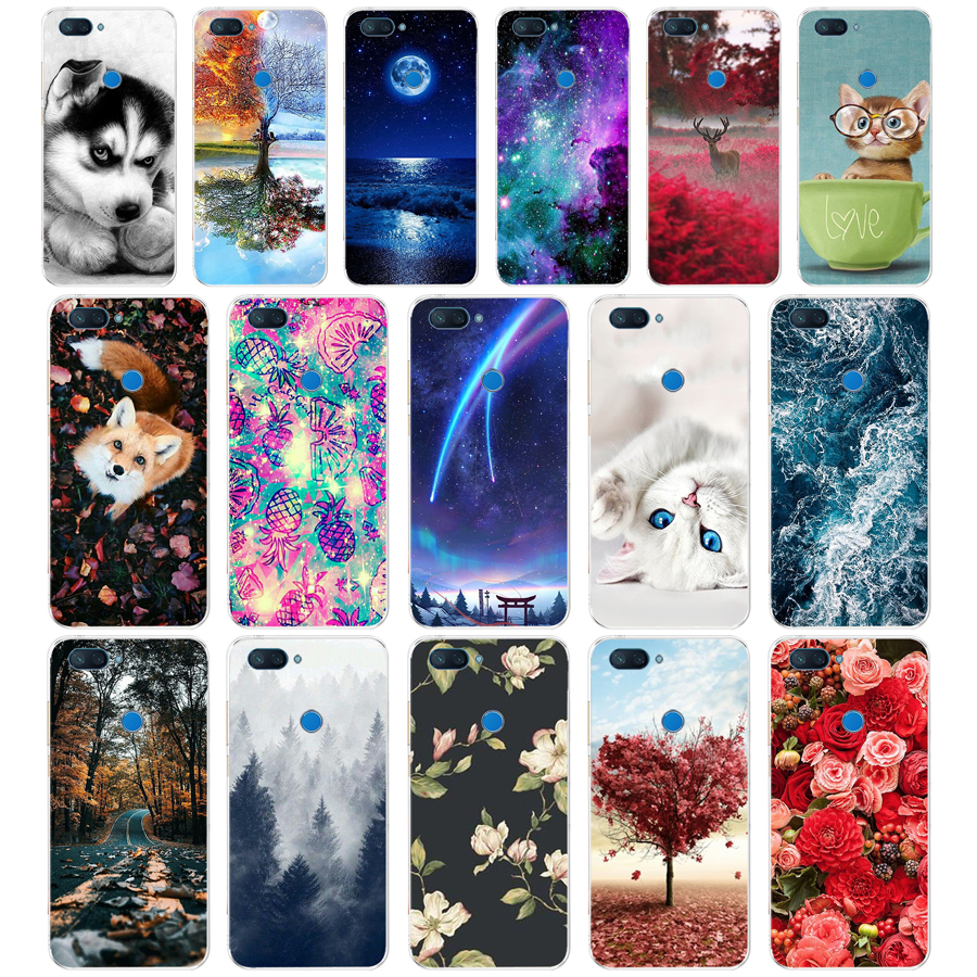 B silicone Cover For Xiaomi Redmi 6 Case Full Protection Soft tpu Back Cover Phone Cases For Xiaomi Redmi6 bumper 6 Coque