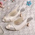 (20 Cores) Estilo Italiano Hot Senhoras Sandálias Partido Sapatos 2015 Cetim Marfim