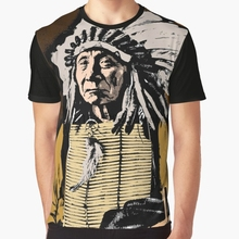All Over Print 3D Women T Shirt Men Funny tshirt CHIEF RED CLOUD-COLOUR  Graphic fe987e592