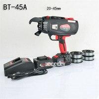 BT 45A полностью автоматическое связывание машина Ручной Арматуры стреппинг машины Перезаряжаемые строительство инструмент 2/3 получается 110