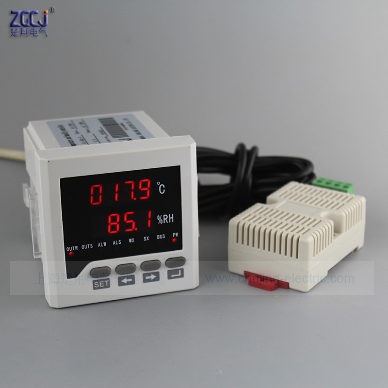 Free shipping High accuracy digital Temperature and humidity controller with RS485 communication function humiture meter