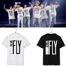 5fa994a2 2016 New Fashion got7 T-shirt Unisex Tee Kpop Concert FLY IN SEOUL Summer  Style Jackson Mark short sleeves T shirt tees Tshirt