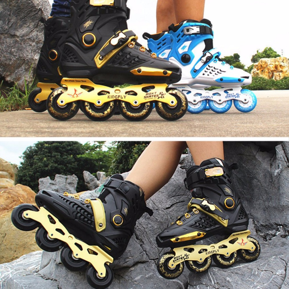 New Adult Single-row Roller Skating Shoes Straight Inline Skates Professional Skates Shoes Universal For Men And Women Hot Sales все цены
