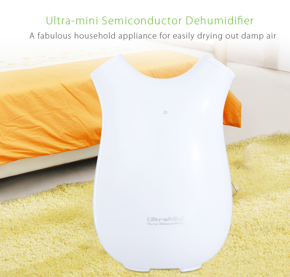 Portable Ultra-mini Dehumidifier Semiconductor 700ml Air Purification Dryer 25W Multifunctional Household Air Dryer Dehumidifier shanghai kuaiqin kq 5 multifunctional shoes dryer w deodorization sterilization drying warmth