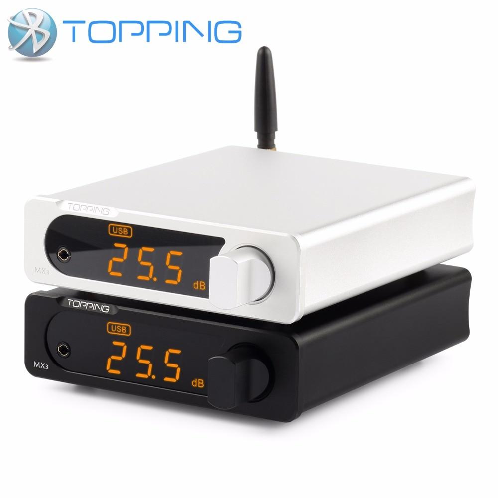 TOPPING MX3 TDA7498E MINI Multifunction Bluetooth Digital Hifi audio Amplifier 40w 2 USB Coaxial Fiber Decoder
