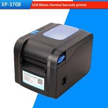 XP-370B Etiqueta de código de Barras Impresora Térmica Impresora de código de Barras Térmica Impresora de Etiquetas de 20mm a 80mm