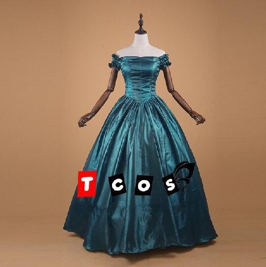 Lolita of Vitoria Gothic Palace ball Dress Operatic long dress cosplay costumes