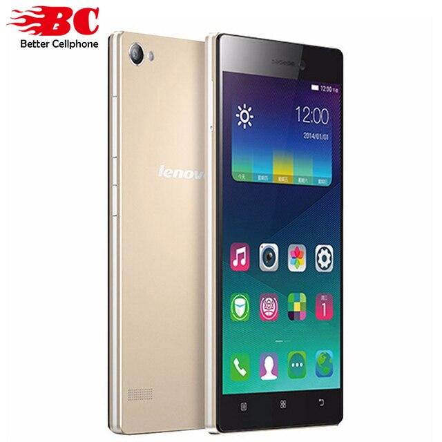 Оригинал Lenovo Vibe X2 Pro X2 pt5 5.3 дюймов 4 Г Snapdragon MSM8939 Окта основные Android 4.4 1920x1080 2 ГБ RAM 16 ГБ 13.0MP Смартфон