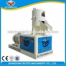 300-500 кг/ч мелких древесных гранул технологического оборудования с плоской матрицей машина