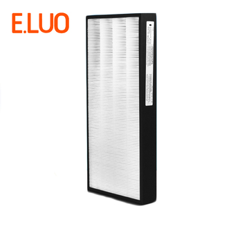2PCS F-ZXCP/ZXCD50C Air Fliter Hepa Filter+Carbon Filter Suitable for Panasonic F-VXD50C F-PXC50C Air Purifier