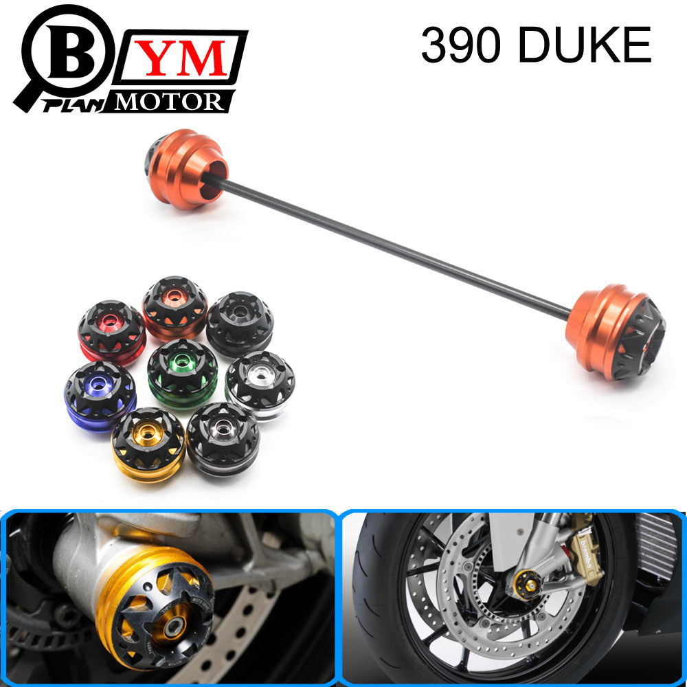 for KTM 390 DUKE 2013-2015 Free delivery CNC Modified Motorcycle Front wheel drop ball / shock absorber motorcycle adjustable cnc aluminum brakes clutch levers set motorbike brake for ktm 690 smc smc r duke duke r 2012 2013