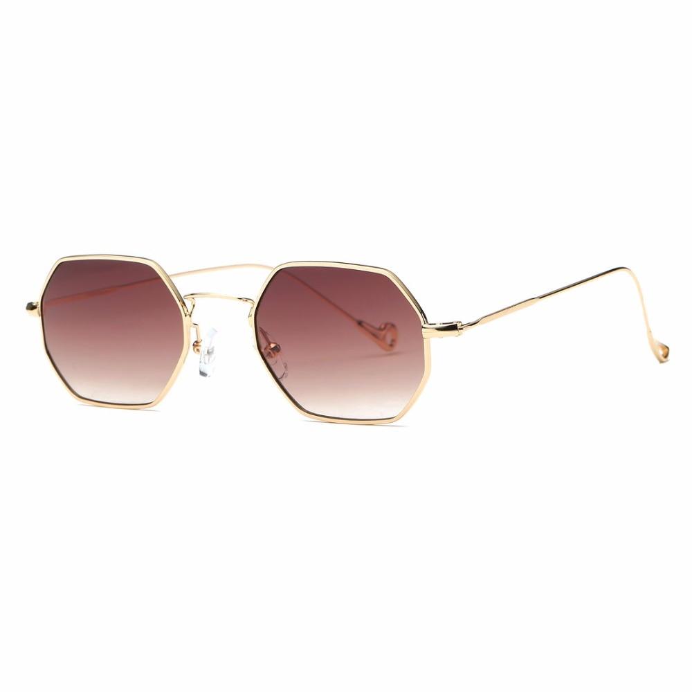 AEVOGUE Sonnenbrille Für Männer / Frauen Kleines Rechteck Legierung - Bekleidungszubehör - Foto 2