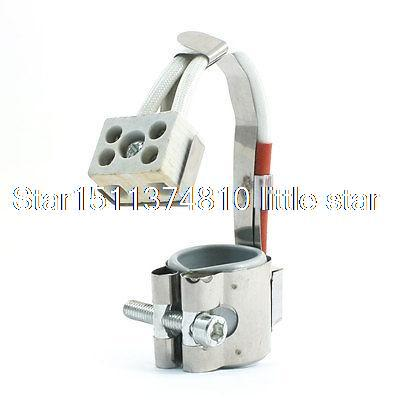 220V 25mm x 30mm Metal Screw Fixing Circular Flexible Mica Band Heater220V 25mm x 30mm Metal Screw Fixing Circular Flexible Mica Band Heater