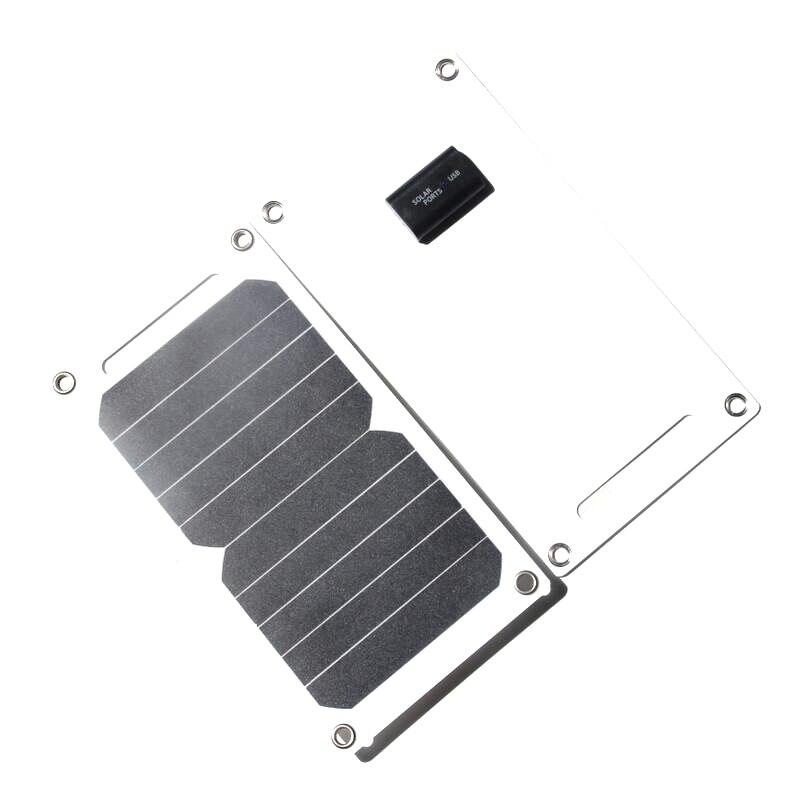 Buheshui 10w 5v carregador solar portátil painel