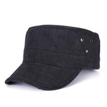 Cap menina lady primavera Verão caps preto Chapéu Militar Do Exército  Cadete Homens Mulheres Golf chapéu Moda Verão Chapéu cor S.. efe536714b4