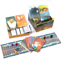 2019 cards game obscure dixit deck 1 2 3 4 5 6 7 8 English rules total 336 playing cards wooden bunny for home party board game