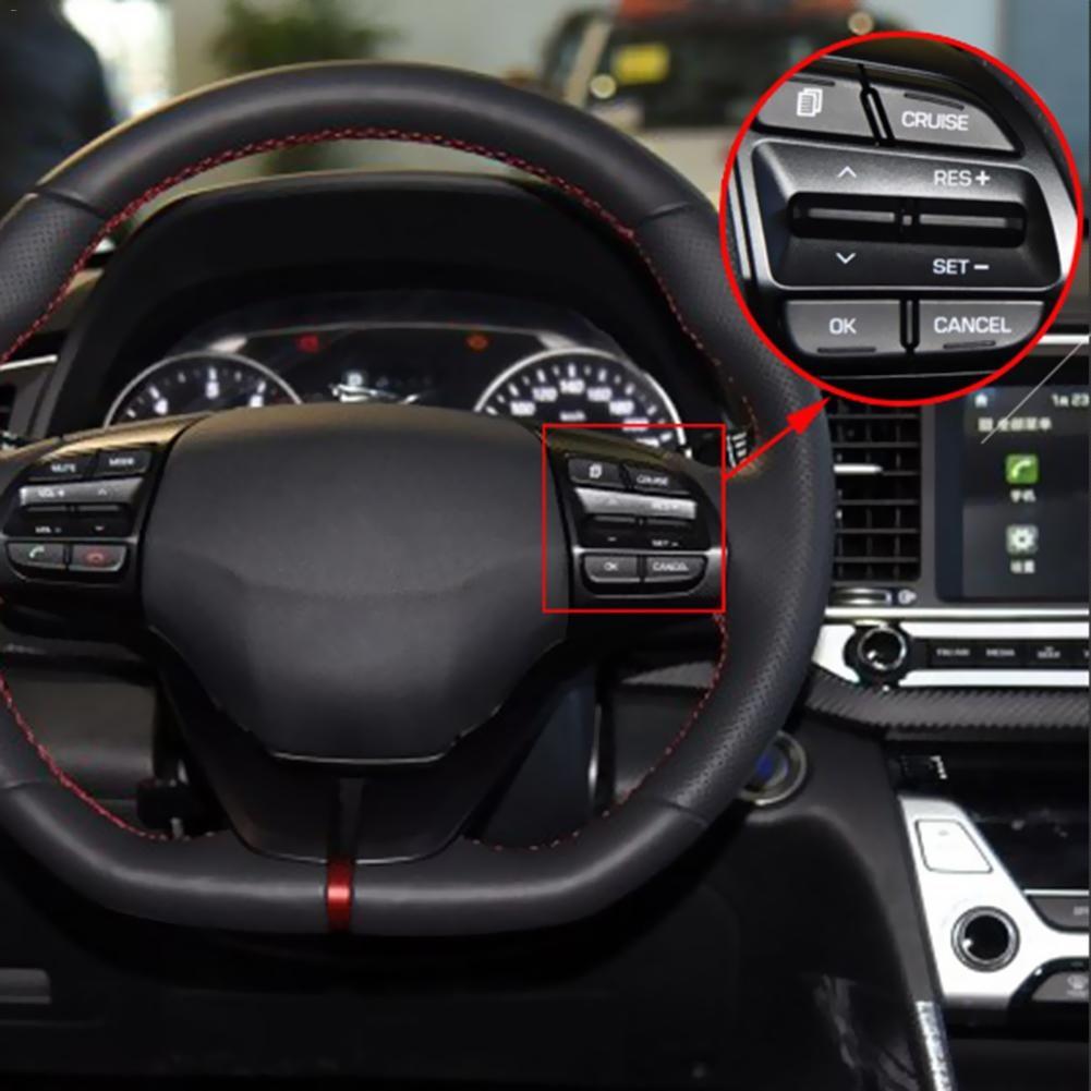 New Auto Car Cruise Control Button Module 1.6L/1.4T Multifunctional Steering Wheel Modification Button For Hyundai ELANTRA
