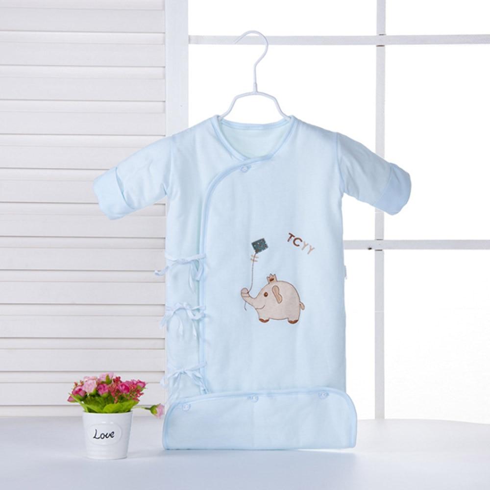 Newborn Infant Baby Sleeping Bag Cotton Sleep Sack Baby Anti Kick Quilt Detachable Sleeve Pajamas Drop Shipping