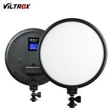 Viltrox VL 500T 25 واط LED حلقة الفيديو إضاءة الاستوديو مصباح ضئيلة ثنائية اللون ديمابلت للكاميرا صور اطلاق النار يوتيوب فيديو تظهر لايف