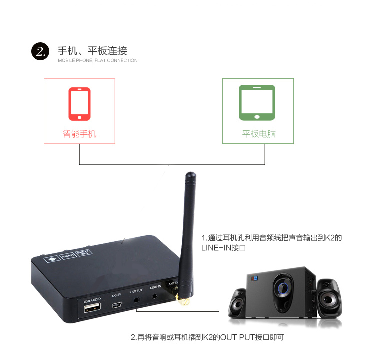 JEDX k2 Android TV Box PC kućni KTV mini karaoke Echo sustav - Kućni audio i video - Foto 3