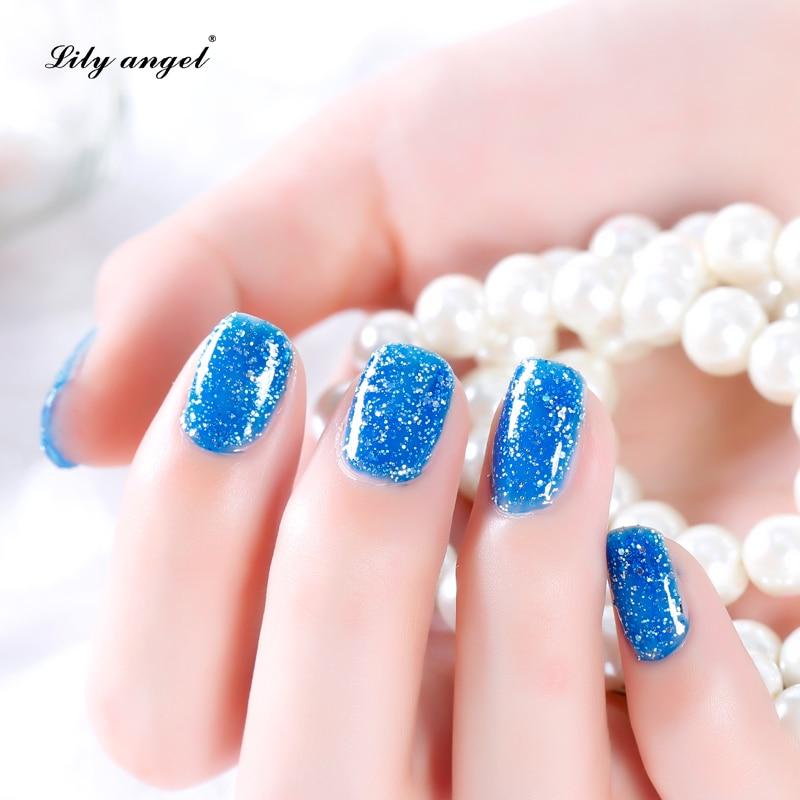 Lelie engel 15ML / pc LED UV Nail Gel Polish Nail Art Salon Gelpolish - Nagel kunst - Foto 3