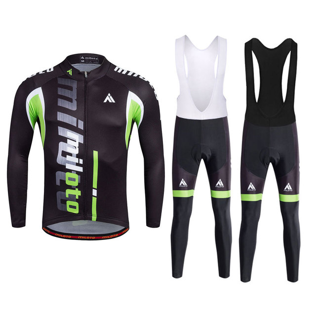 Men S Cycling Clothing Long Sleeve Classic Bike Bicycle Jersey And
