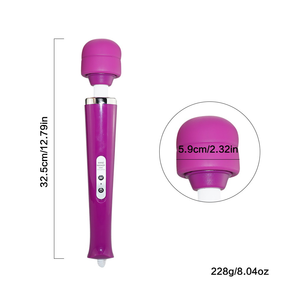 Powerful oral clit Vibrators for Women USB Charge AV Magic Wand Vibrator Massager Adult Sex Toys for Woman Masturbator Sex Shop  (3)