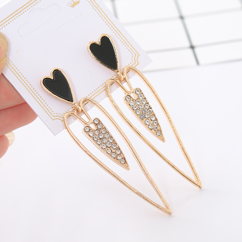 Adaptable 2017 New Earrings For Aretes Largos Baroque Big Long Earrings For Women Pendantes Christmas Drop Dangling Crystal Earrings Furniture