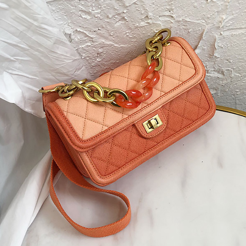 Customized high quality Genuine Leather bags for women 2019 Lingge Chain omans bagCustomized high quality Genuine Leather bags for women 2019 Lingge Chain omans bag