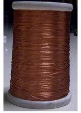 Hebras 0.1 x 30, 10 m/unids, alambre de litz, trenzado de cobre esmaltado alambre / trenzado multi-strand alambre