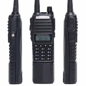 Image 4 - Baofeng UV 82 artı 8W yüksek güç 3800mAh pil ile DC konektörü walkie talkie uzun menzilli radyo Ham taşınabilir CB radyo