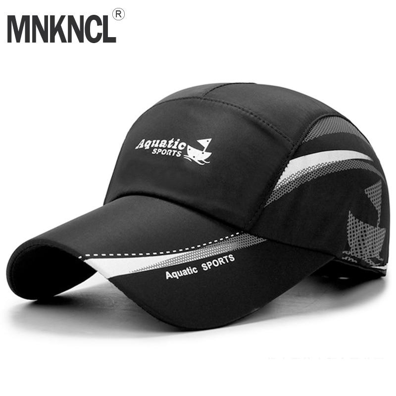MNKNCL 2019 New Summer Baseball Cap Men Breathable Quick-Drying Mesh Hats Women Sunshade Caps