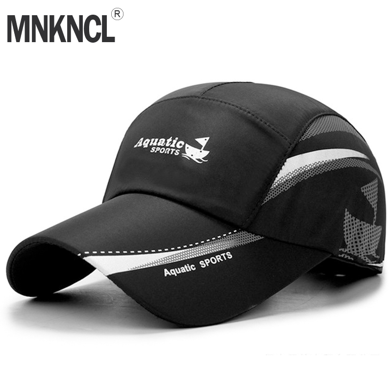 MNKNCL 2019 New Summer   Baseball     Cap   Men Breathable Quick-Drying Mesh Hats Women Sunshade   Caps